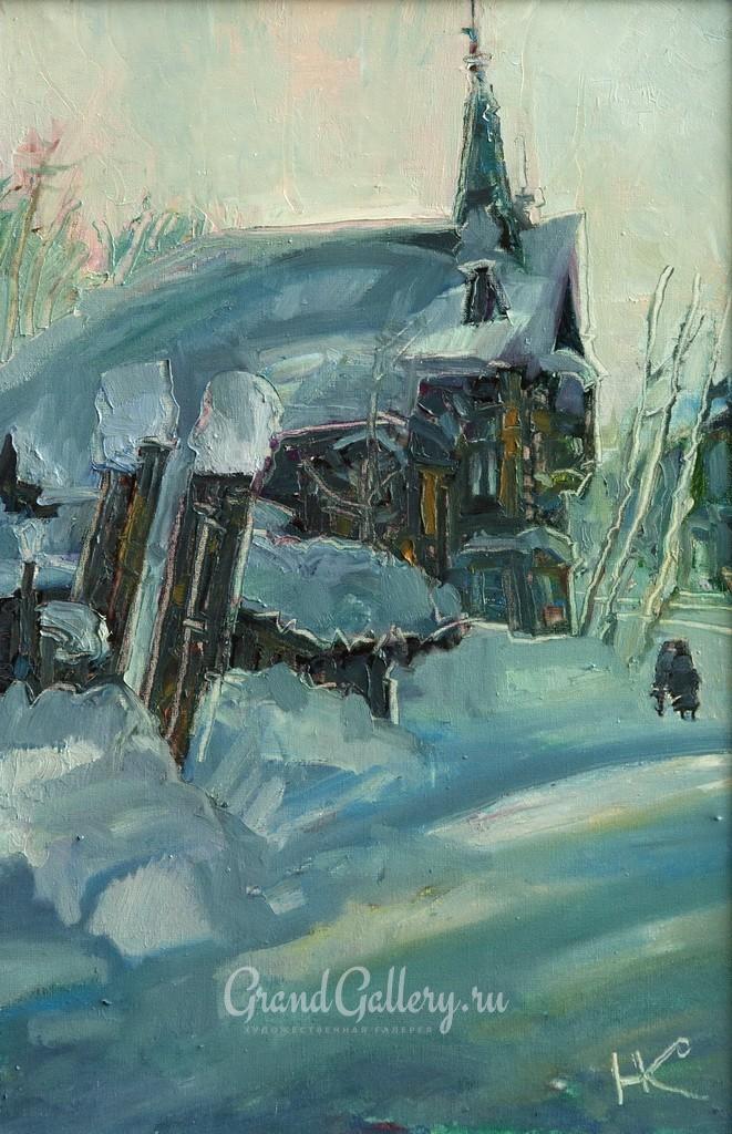 Зима на Тверской. Томск