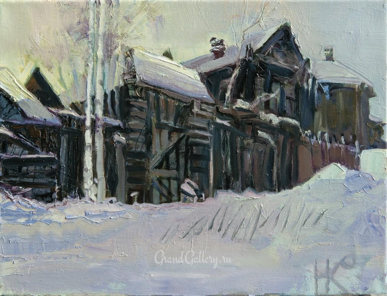 Томск. Зима